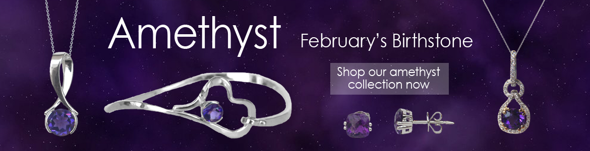 Shop our wide selection of amethyst jewelry at Kloiber Jewelers!