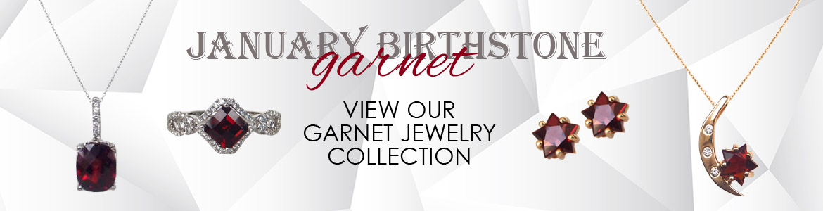 Kloiber Jewelers offers a variety of garnet jewelry.