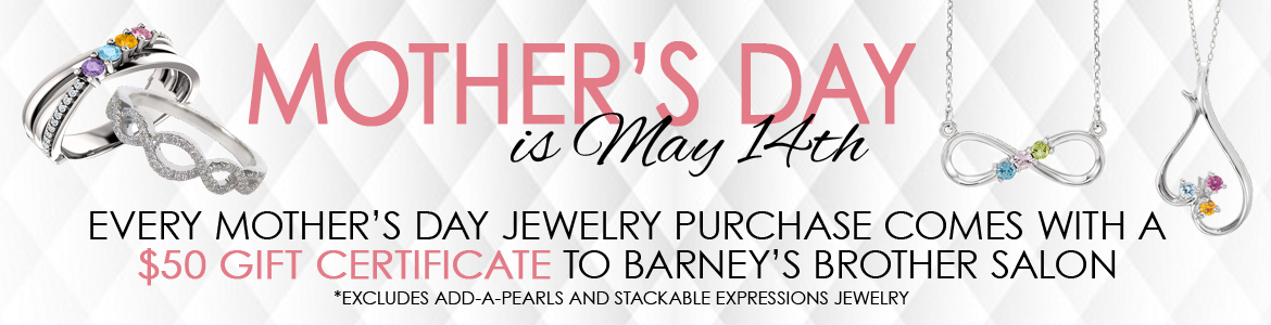 Surprise mom with a Kloiber Jewelers Mother's Day gift!