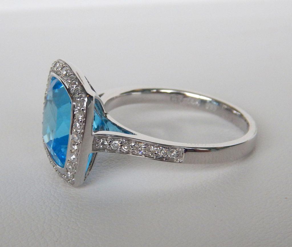 Sky Blue Topaz Ring Kloiber Jewelers
