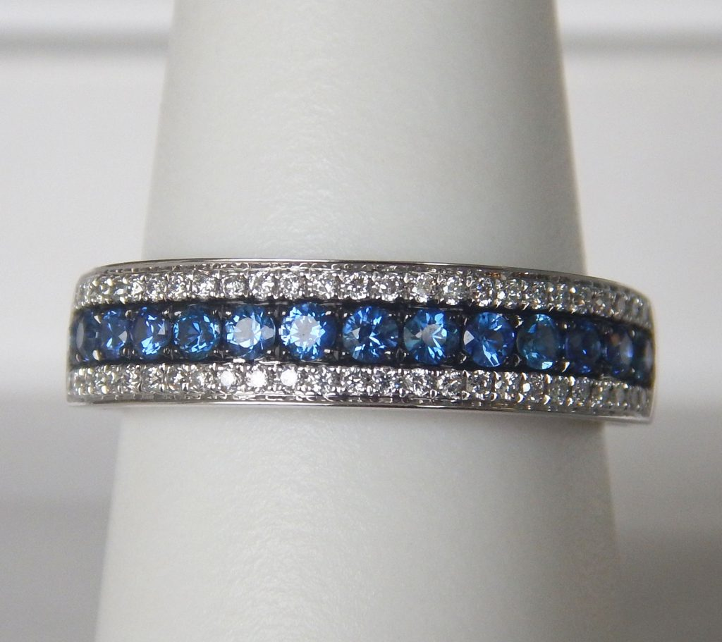 created miadora and blue silver stackable anniversary band bands sterling free jewelry white watches ring product shipping today overstock sapphire