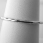 sterling silver thin band