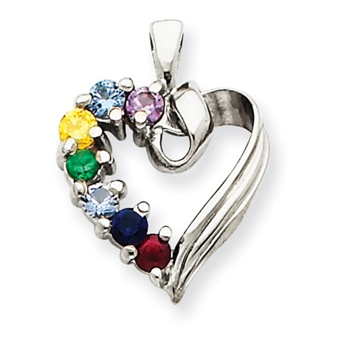 birthstone-heart-pendant