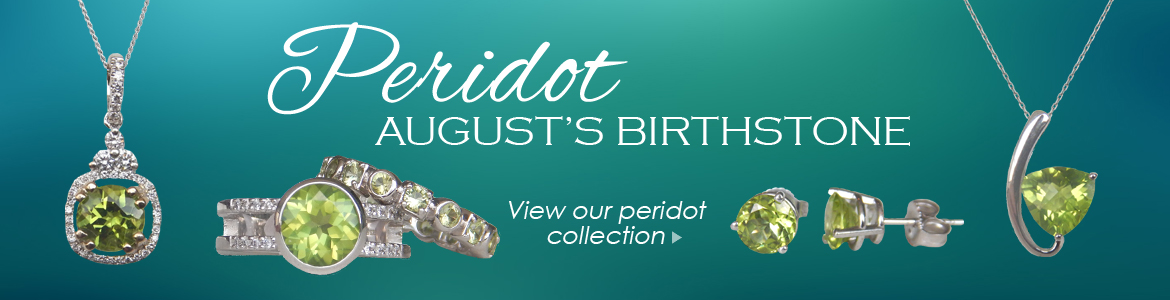 Shop our wide selection of peridot jewelry at Kloiber Jewelers!