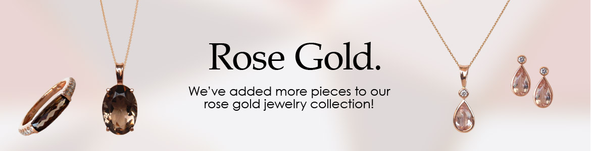 We've just added more rose gold jewelry to the Kloiber collection.