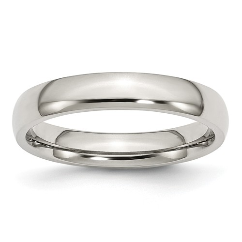 4mm stainless steel wedding band