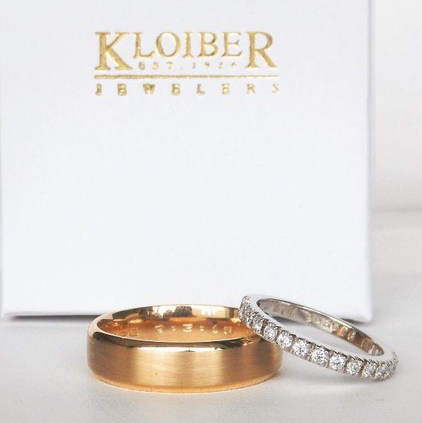 kloiber jewelers wedding bands