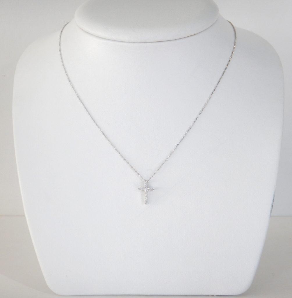 Diamond Cross Necklace Kloiber Jewelers