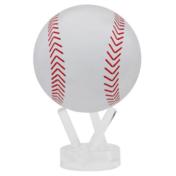 rotating baseball on stand