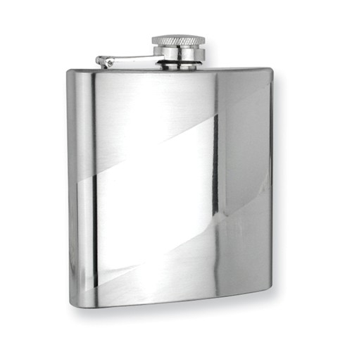 stainless steel engravable flask