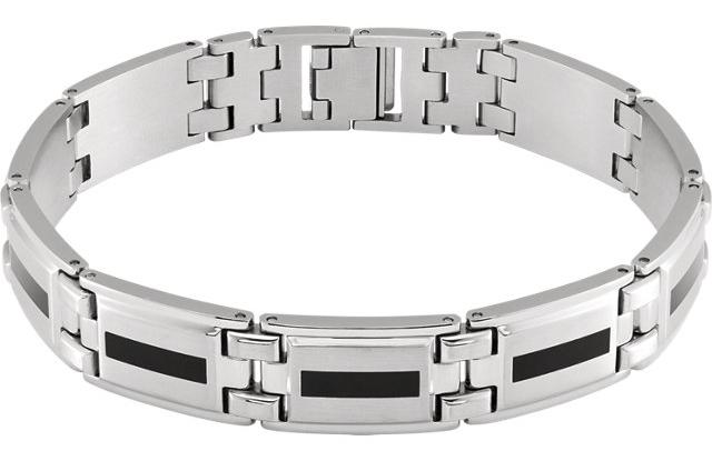 stainless steel mens bracelet