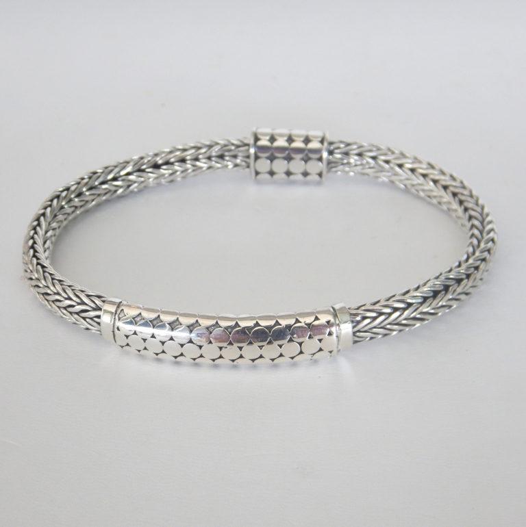 sterling silver bali bracelet