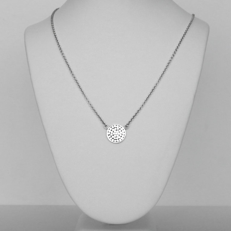 sterling silver bali necklace