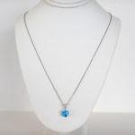 blue topaz necklace