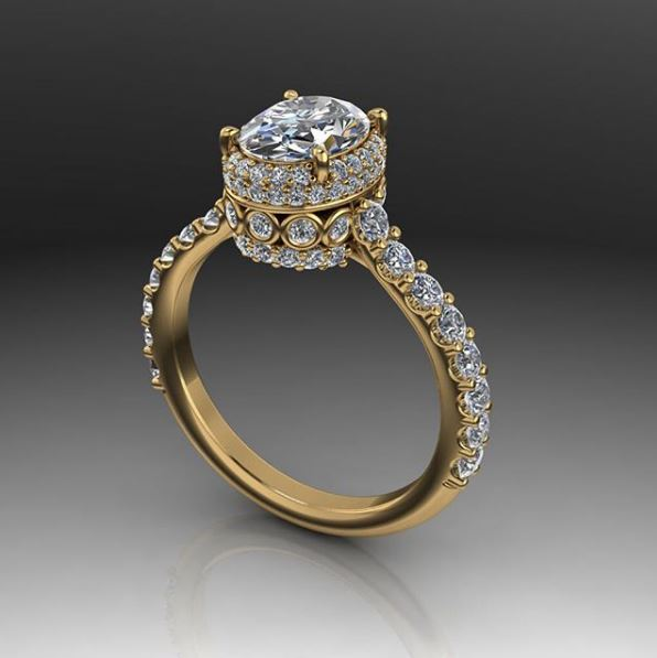 rings haan platinum custom gold designed oval halo engagement diamond blog hugo ring