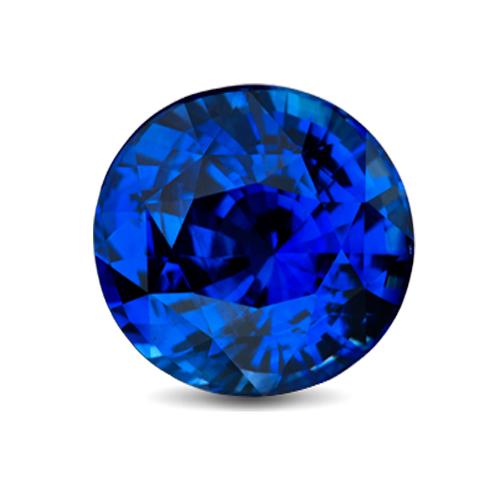 loose blue sapphire gemstone