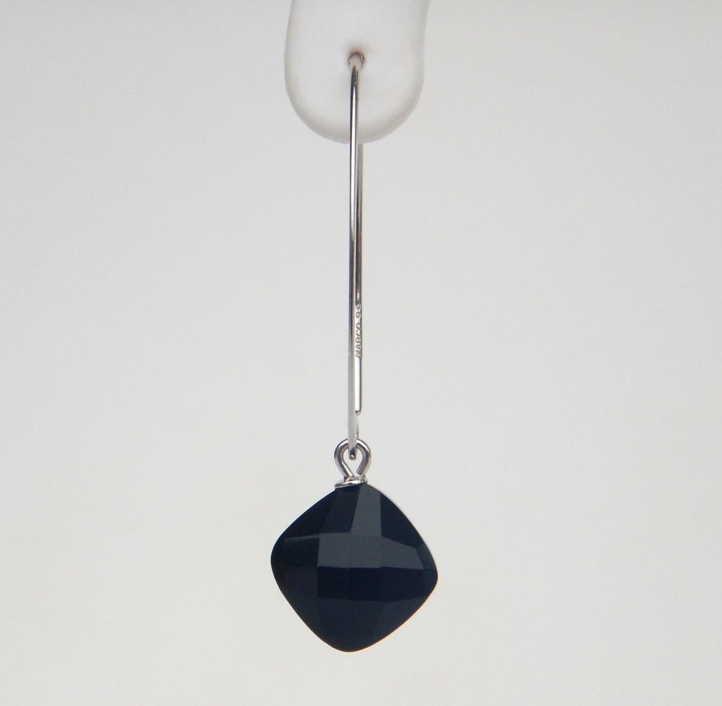 black jewellery image tomoko onyx products earrings