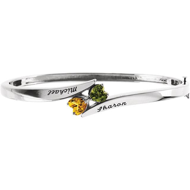 engravable family bracelet