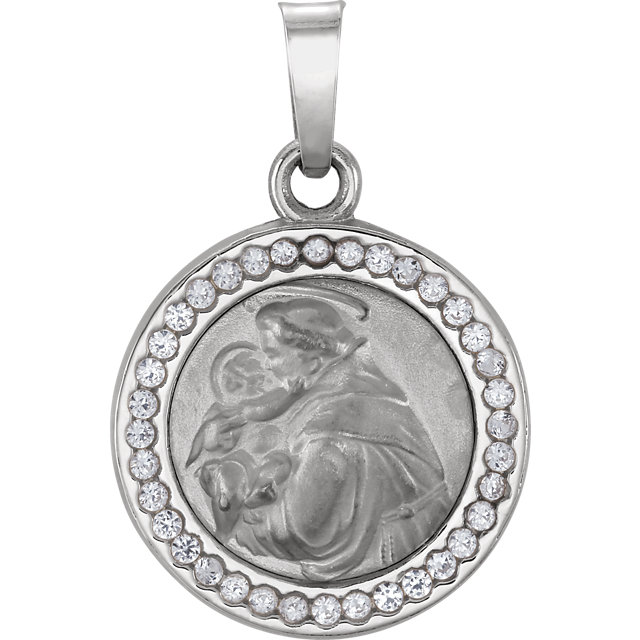 st. anthony pendant