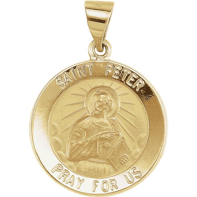 st. peter medal