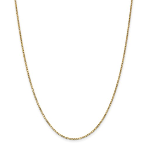 yellow gold mens chain