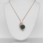 rose gold ammolite necklace copy