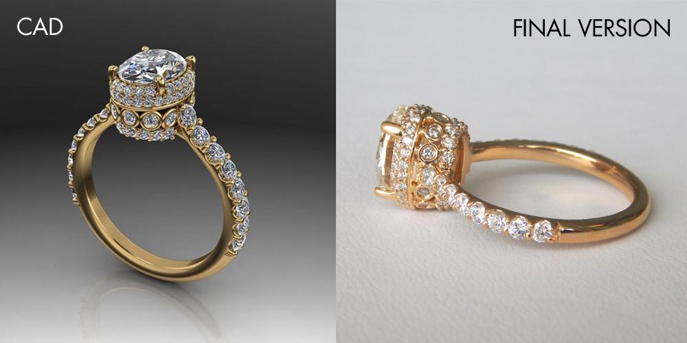 kloiber jewelers custom designed diamond ring