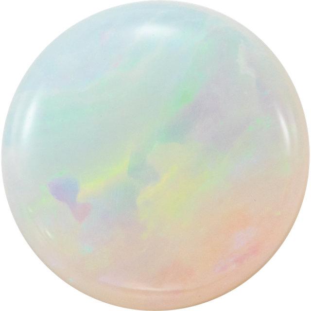 loose white opal