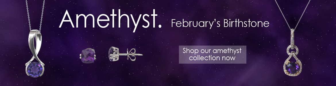 Kloiber Jewelers offers a variety of amethyst jewelry.