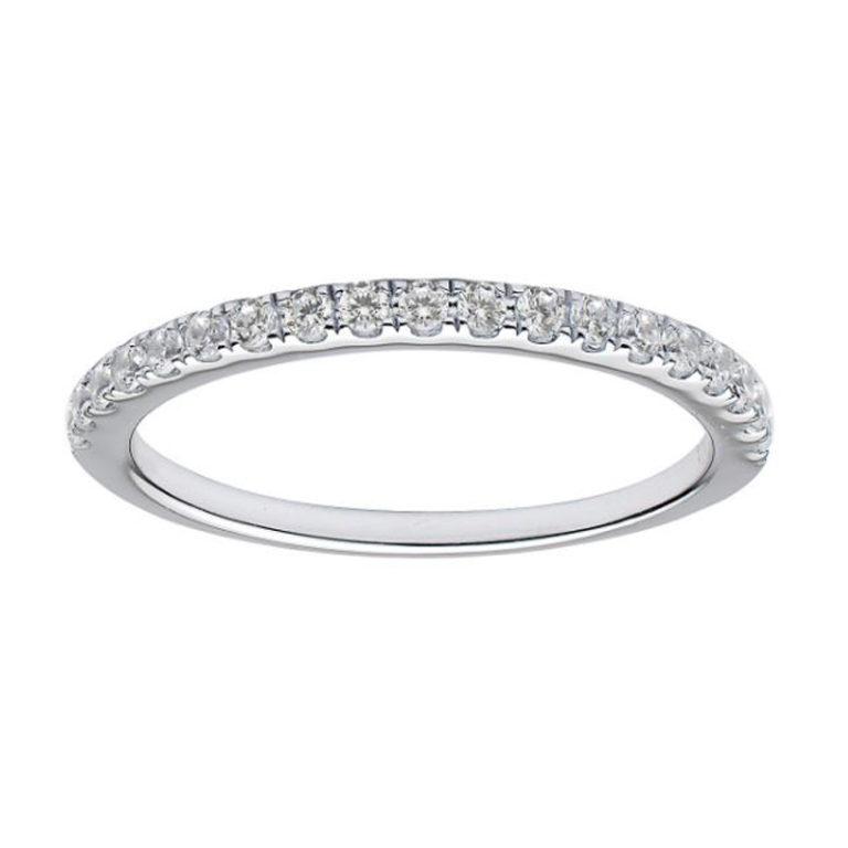 thin diamond band