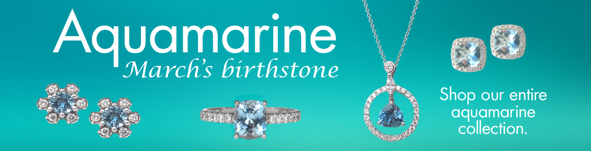 Shop our collection of aquamarine jewelry.
