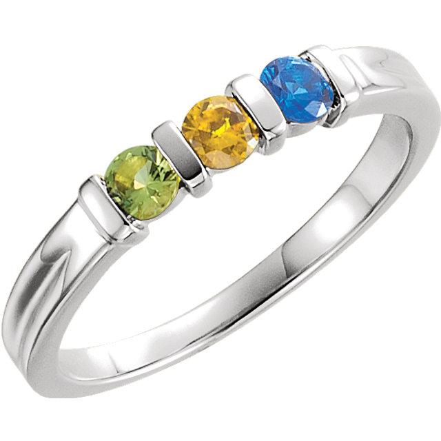 three stone mothers ring