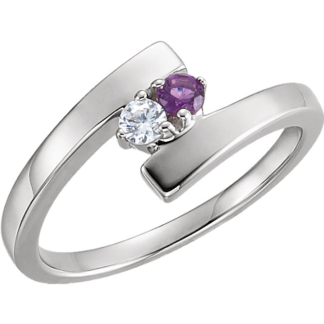 two stone mothers ring