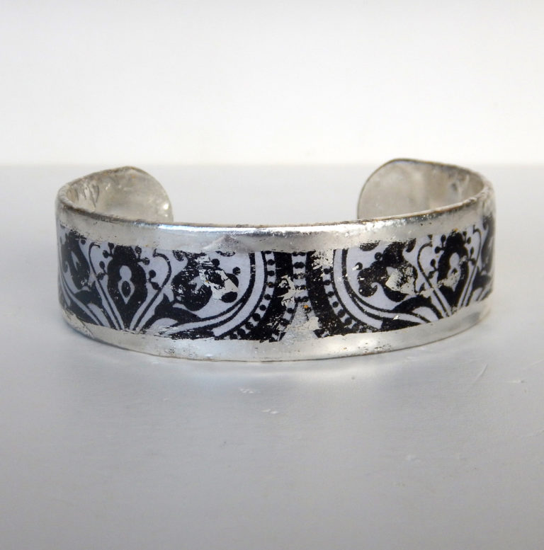 new orleans inspired cuff bracelet