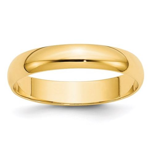 yellow gold mens wedding ring