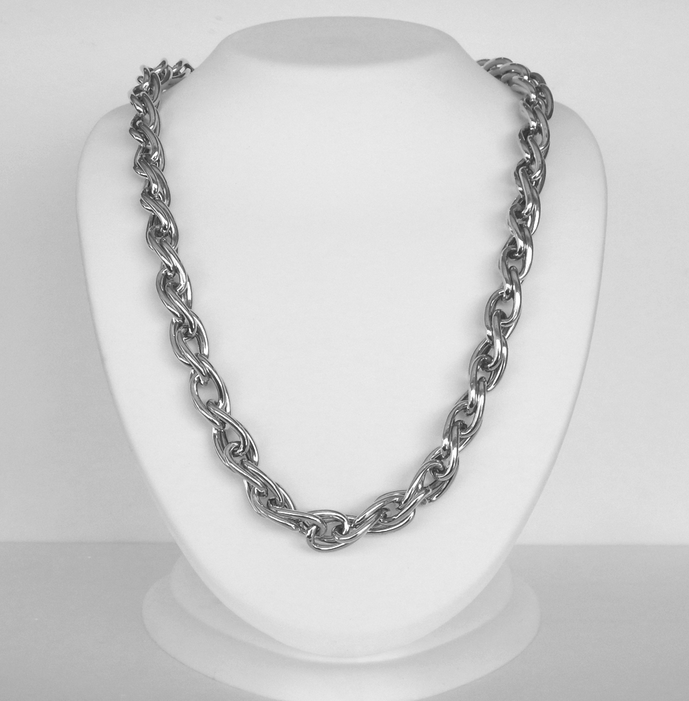 large sterling silver necklace chain