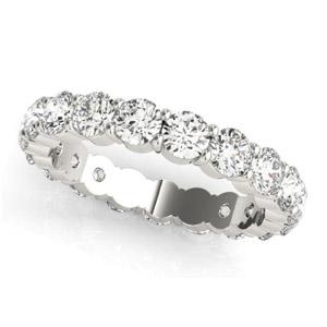 white gold diamond eternity band